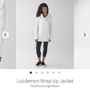 Lululemon wrap up jacket NWOT